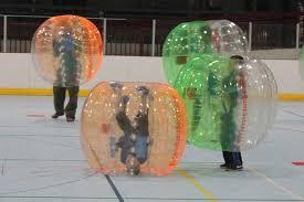 Play Soccer inside a Ball