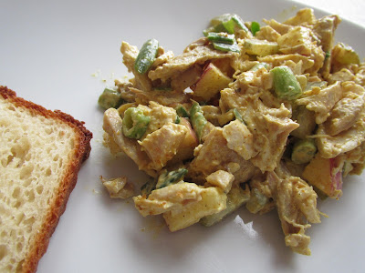 GF Curry Chicken Salad