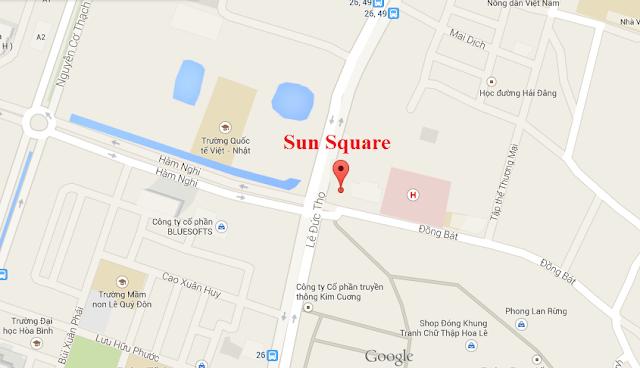 chung cư sun square,chung cu sun square, chung cư sun square 21 lê đức thọ
