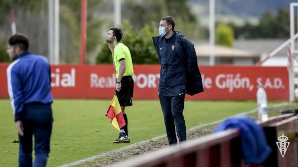 Oficial: Sporting B, Sergio Sánchez nuevo entrenador