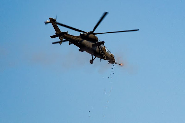 Italian Army attack helicopters