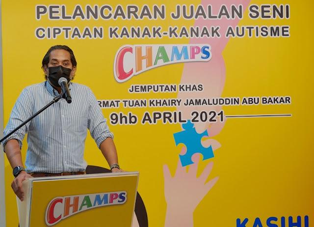 Yang Berhormat Tuan Khairy Jamaluddin Abu Bakar, Menteri Sains, Teknologi dan Inovasi Malaysia