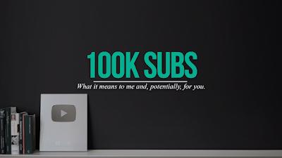 Membuat channel youtube yang akhirnya telah mencapai 100.000 Subscribers