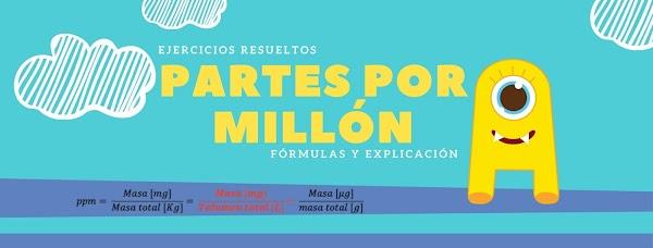 ▷ Ejemplo de ppm resuelto ✅ Partes Por Millón Química ✔
