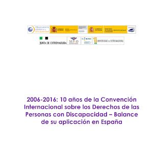 balance de 10 años de la Convención Internacional sobre los Derechos de las Personas con Discapacidad