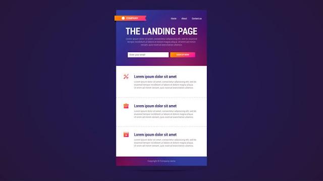 BELAJAR BLOGGING | Apa itu Landing Page dan Bagaimana Cara Kerjanya?