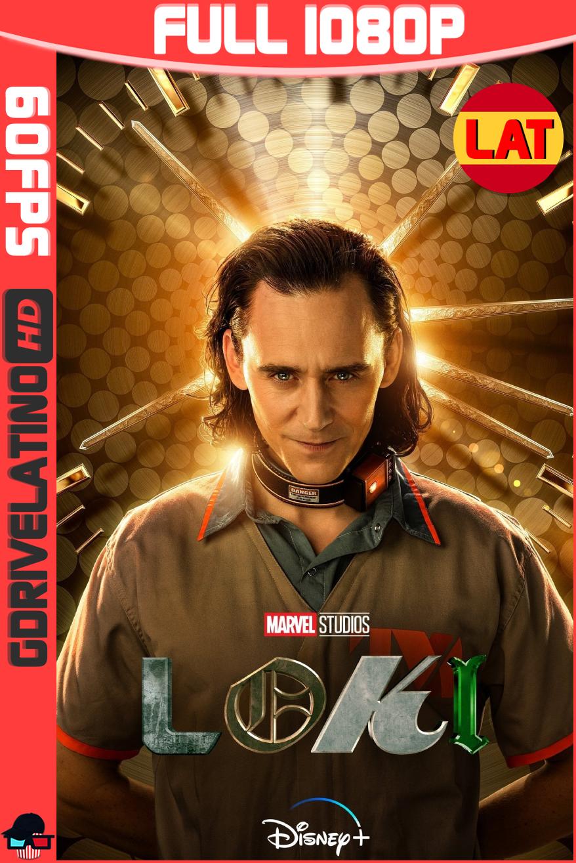 Loki (2021) D+ Temporada 01 FINAL [06/06] WEB-DL 1080p (60 FPS) Latino-Ingles MKV