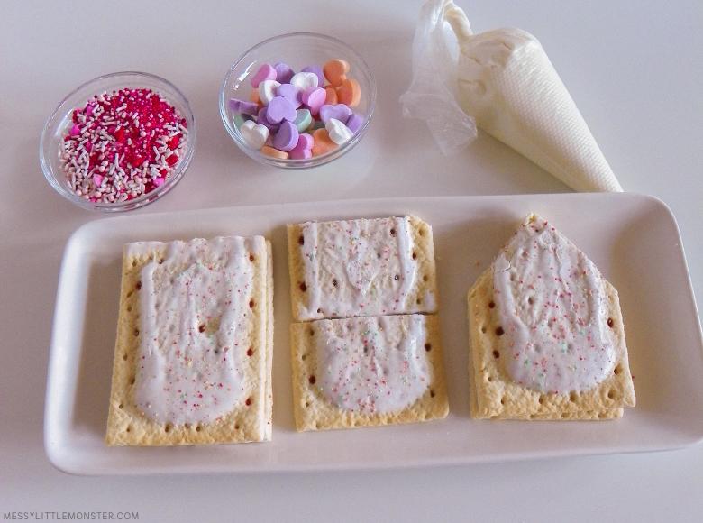 homemade pop tart Valentine treat