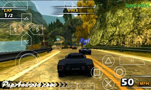 Burnout Dominator PPSSPP