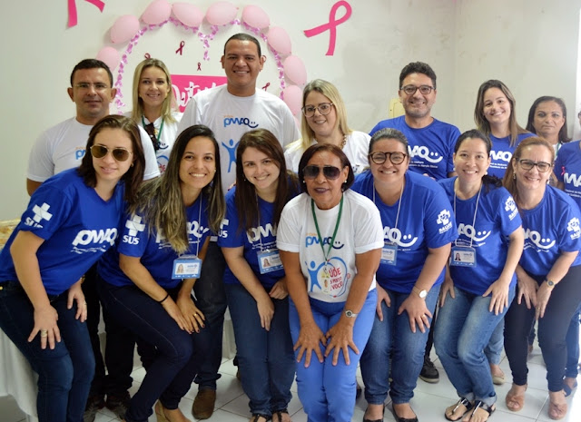 Serra Caiada recebe equipe avaliadora do PMAQ