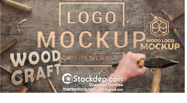 Logo mockup free download