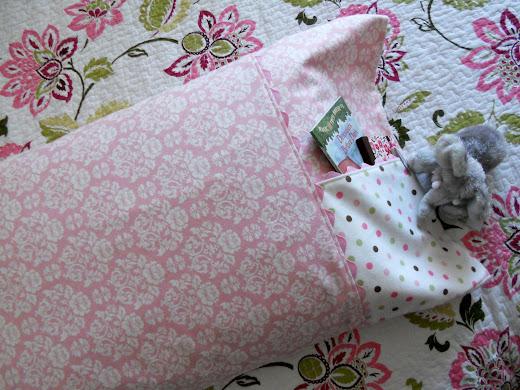 flower patterned pillowcase