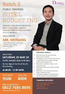 Hotelier Training Program (Bali): Hotel Budgeting - Batch 2