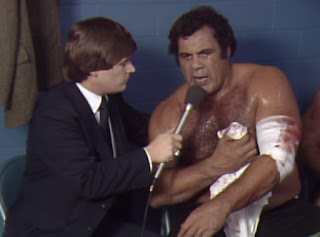 NWA Starrcade 83: A Flare for the Gold - Angelo Mosca cuts an angry promo about Kevin Sullivan and Mark Lewin