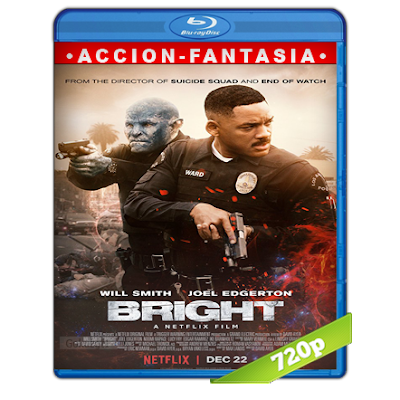 Bright (2017) BRRip 720p Audio Trial Latino-Castellano-Ingles 5.1