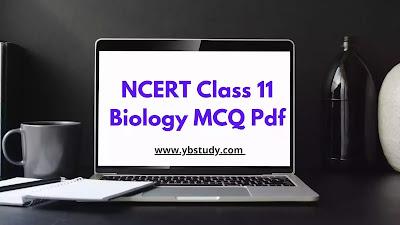 NCERT MCQ Class 11 Biology Chapter wise PDF