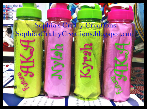 Sophia S Crafty Creations Water Bottle New Personalized