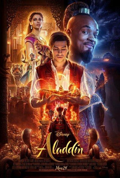 Aladdin 2019 480p 400MB BRRip