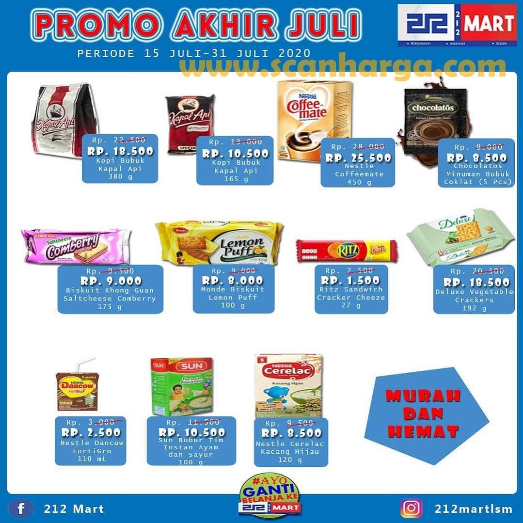 Katalog Promo 212 Mart Minimarket 15 - 31 Juli 2020 1