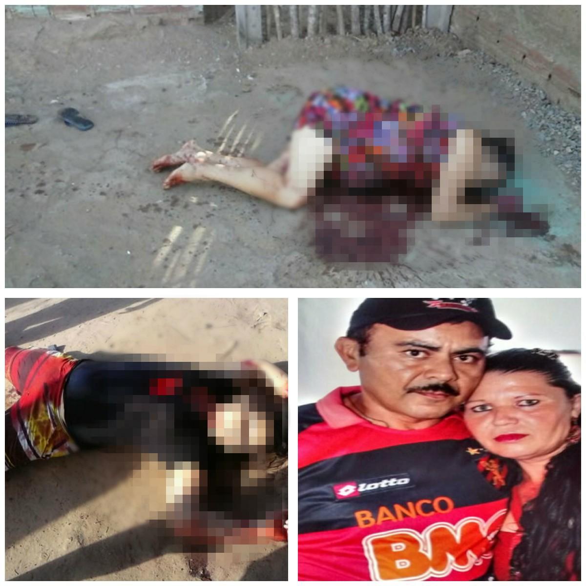 Homem mata a facadas esposa grávida