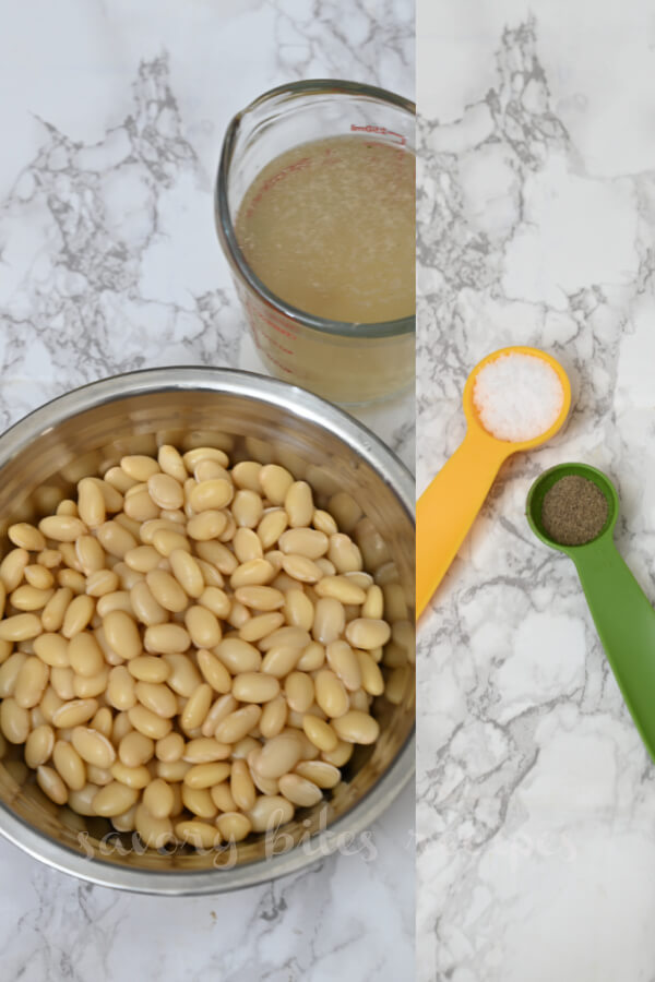 how to make white bean vegetable soup