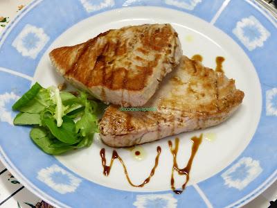 Cocinando con vicky recetas de cocina bonito a la plancha con salsa de soja - Salsa para ternera a la plancha ...