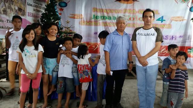 Dikunjungi Desli Sumampouw, Anak-Anak Panti Asuhan ini Terlihat Sumringah