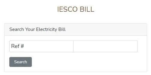 IESCO Bill Online Check | Check IESCO duplicate bill 2021