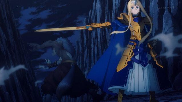 Sword Art Online: Alicization - War of Underworld - Episode 8