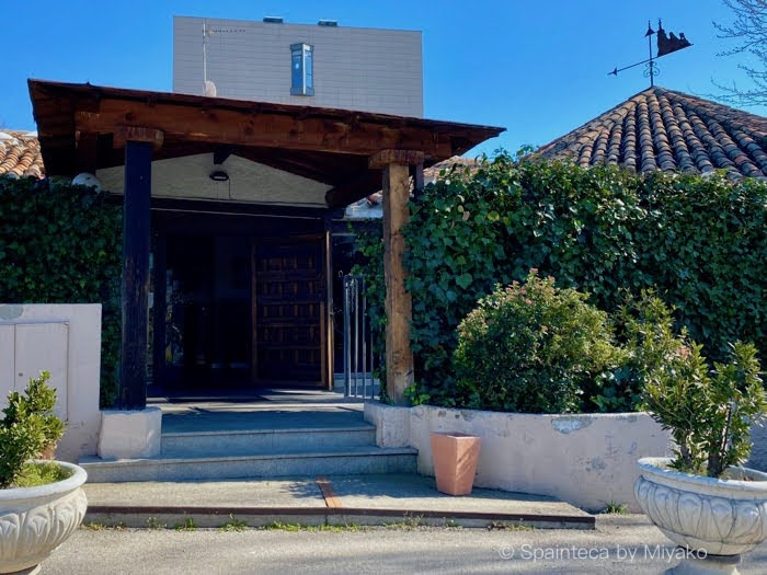 El Oso マドリードの老舗アストリアス料理店エル・オソの素朴な入口