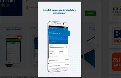 cek saldo mandiri mobile banking