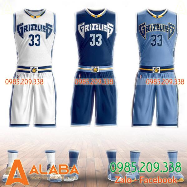 Áo bóng rổ tự thiết kế tay cộc
