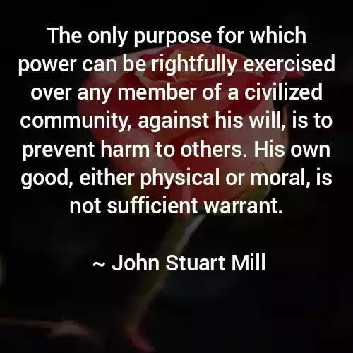 John Stuart Mill Quotes in English