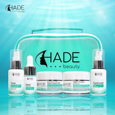 Paket Hade Beauty Brightening Perawatan Wajah