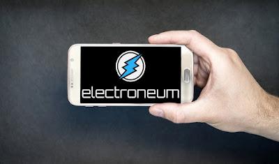 Mining Electroneum di Android Gratis 100 ETN Withdraw Tiap Bulan