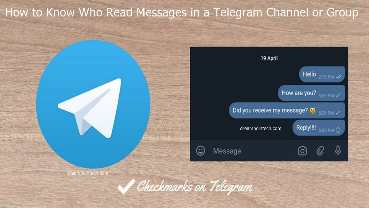 How to Know Who Read Messages in a Telegram Channel or Group