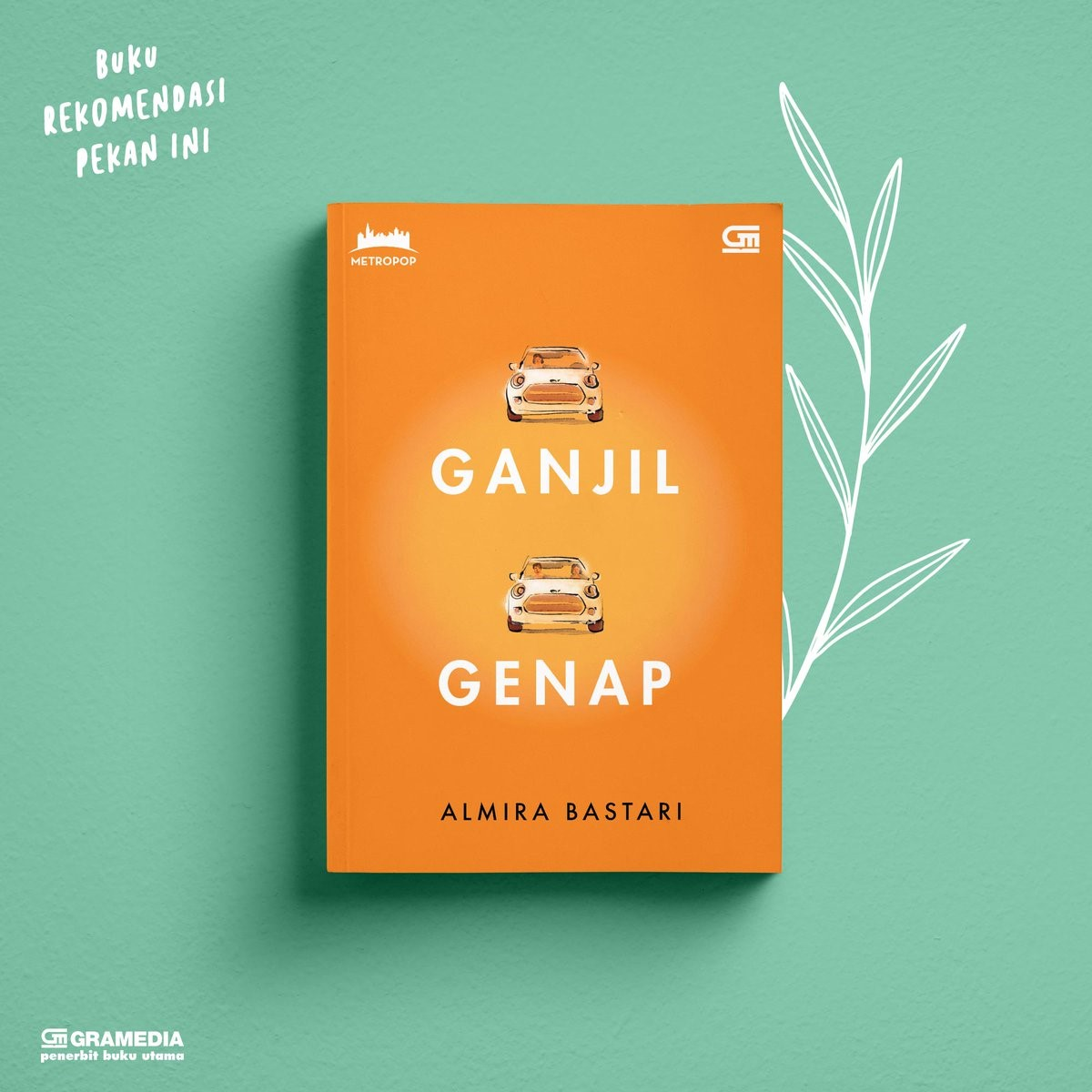 Review Novel Ganjil Genap Karya Almira Bastari