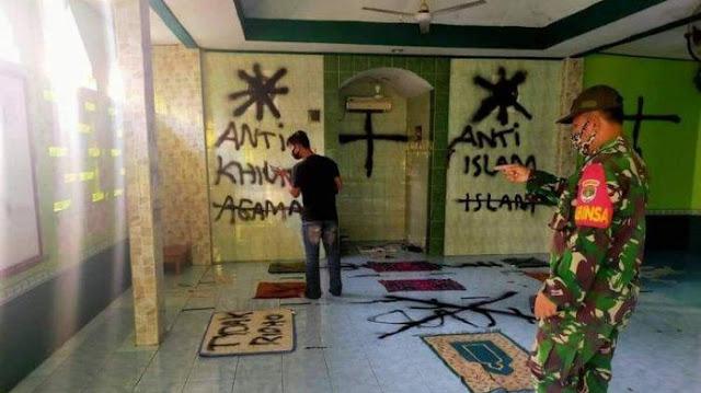 Kronologi Vandalisme di Mushola Darussalam Tangerang