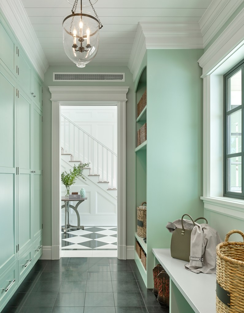 House Beautiful Accent Mint Green September 26 2017