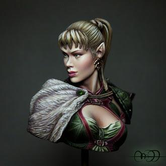 Elf Huntress - Pegaso Models