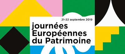 Visuel journees europeennes du patrimoine 2019