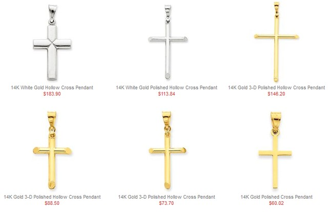 Unique Cross Necklaces