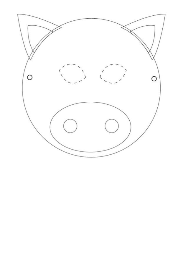 Mascaras de Animais para Imprimir e Recortar