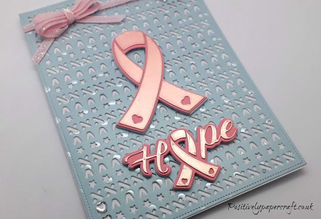 Breast cancer awareness card
