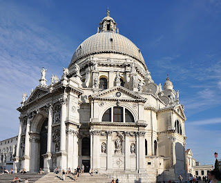 The Baroque church of Santa Maria della Salute