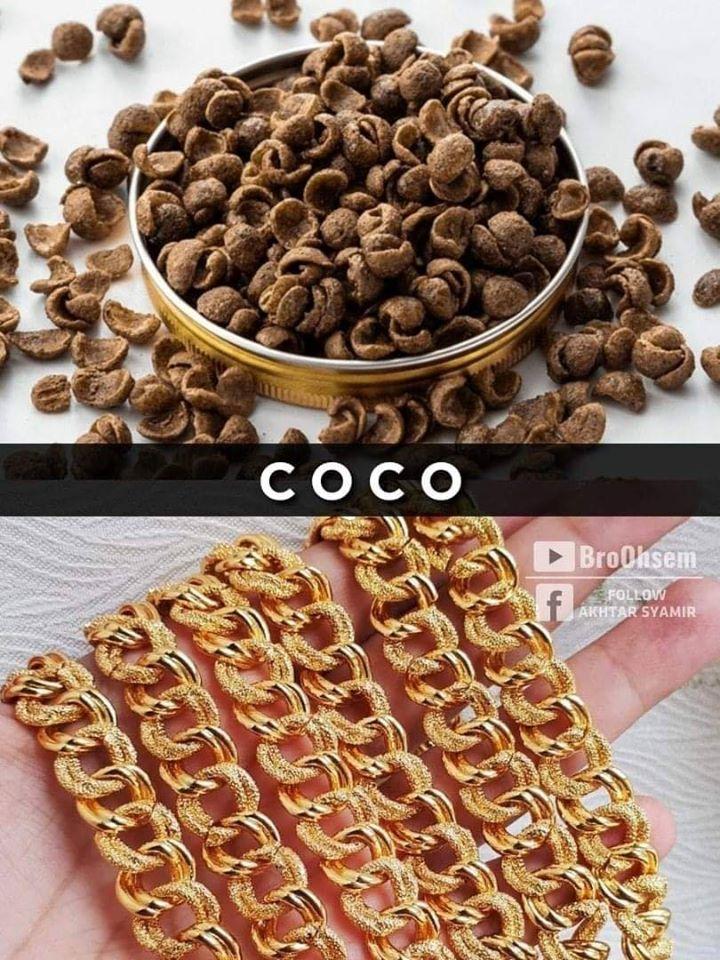 Gelang Emas Coco