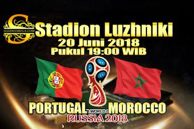 AGEN BOLA ONLINE TERBESAR - PREDIKSI SKOR PIALA DUNIA 2018 PORTUGAL VS MOROCCO 20 JUNI 2018