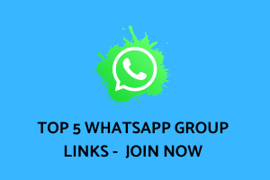 Top 05 WhatsApp Group Links