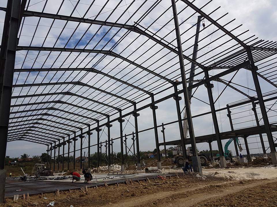 Jasa konstruksi baja WF,Jasa Konstruksi baja Konvensional,borongan konstruksi baja,pemborongan bangunan gudang