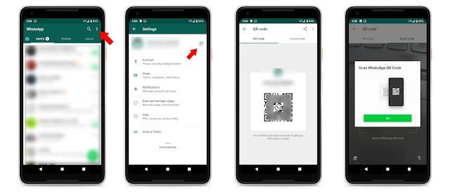 Kod QR Untuk Mula Chat